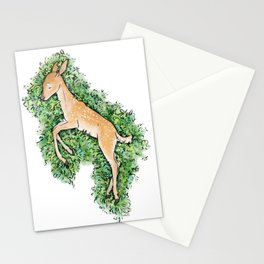 Resting Place - Fawn Stationery Cards