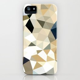 Neutral Tris iPhone Case