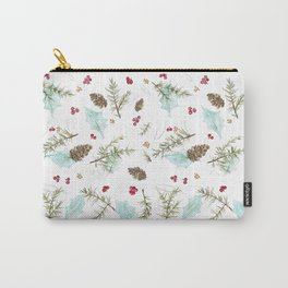 Pinecones and Berries Carry-All Pouch