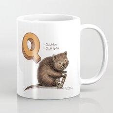 Animals & Instruments ABCs – Q Coffee Mug