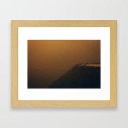 Edge of the Sun Framed Art Print