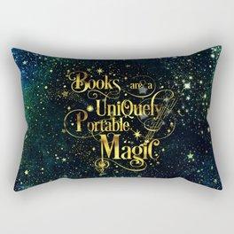 Books Are a Uniquely Portable Magic Rectangular Pillow