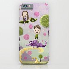 Pink Bubbles iPhone 6 Slim Case