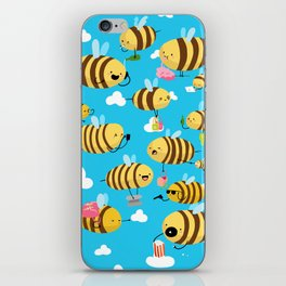 Busy Bees iPhone Skin
