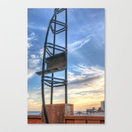 Steel sail Canvas Print