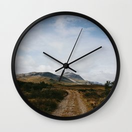 Hiking in Rondane, Norway Wall Clock