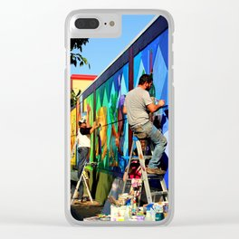 Not Trump's Wall Clear iPhone Case