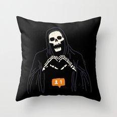 New Follower Throw Pillow