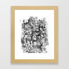 Contemporary Framed Art Print