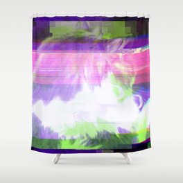 3 a.m. Footsteps Shower Curtain