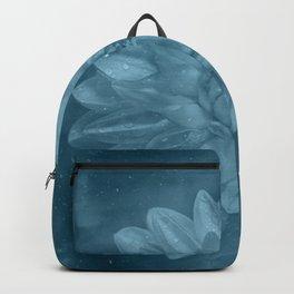 Grunge Flower texture Backpack