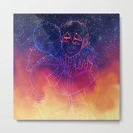 Across Galaxies Metal Print