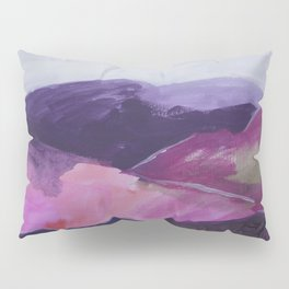 Roses Aren't Red 2 - Contemporary Abstract Landscape Pillow Sham