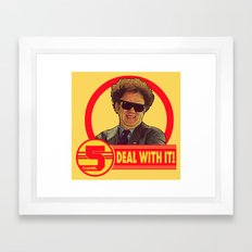DEAL WITH IT! | Channel 5 | Brule Framed Art Print