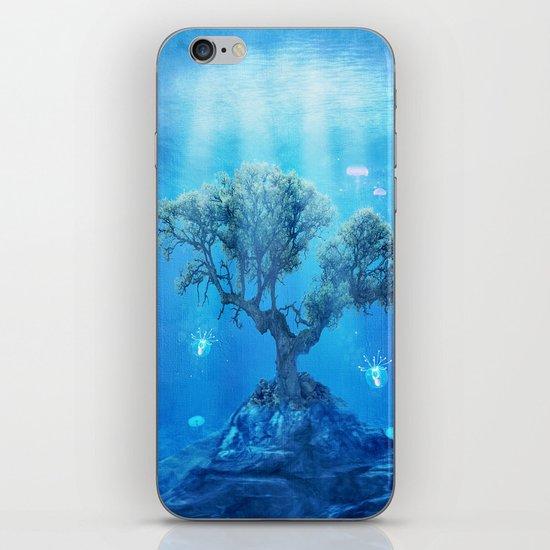 underwater tree iPhone Skin