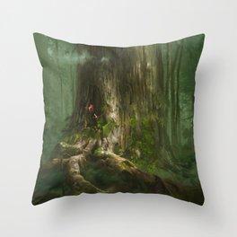 Secret of Mana Throw Pillow