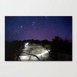 Night Explorer Canvas Print