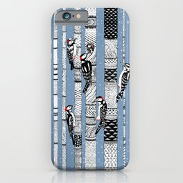Woodpeckers iPhone Case