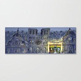 Hark! 'tis Paris! Canvas Print