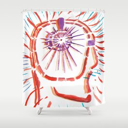 The New Flesh 6 Shower Curtain