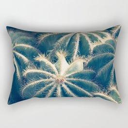 Southwest Cactus Garden Rectangular Pillow
