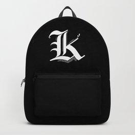 Letter K Backpack