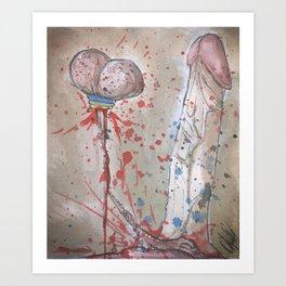 Composition VI Art Print