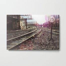 On Track - Paddington Metal Print