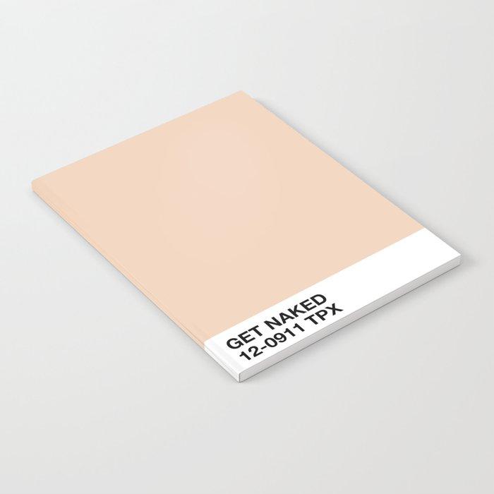 get naked Notebook