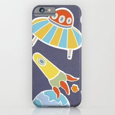 space flying iPhone 6s Slim Case