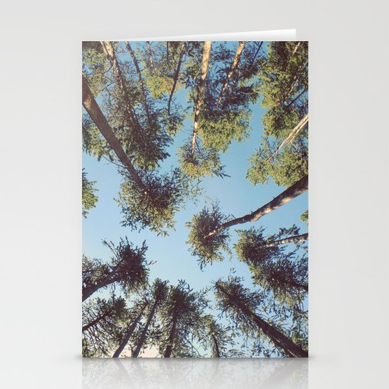look up & GET LOST Stationery Cards