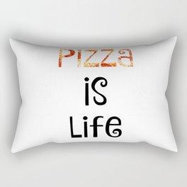 Pizza is life Rectangular Pillow