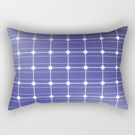 In charge / 3D render of solar panel texture Rectangular Pillow