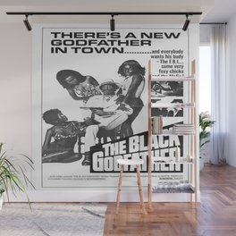 The Black Godfather Wall Mural
