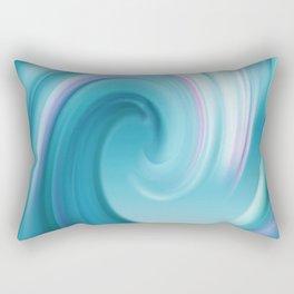 Blue wave 209 Rectangular Pillow