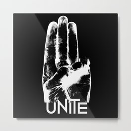 Unite Mockingjay Metal Print