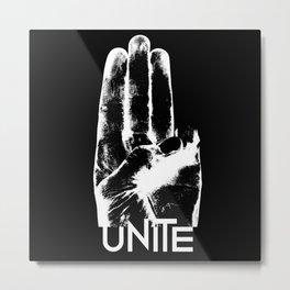 Unite Mockingjay Metal Print