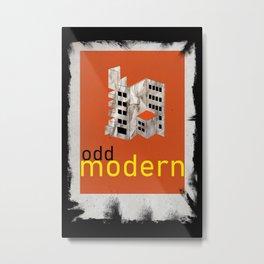 Postmodern Bauhaus Poster Metal Print