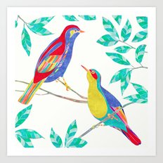 Songbirds 2 Art Print