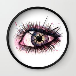 cosmic eye 2 Wall Clock