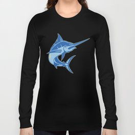Sailfish is one of the most hardest fishes to catch Long Sleeve T-shirt