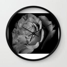 """Dark Purity"" Wall Clock"