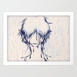 Downpour Truth Art Print