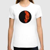 lama T-shirts featuring Dalai Lama  by Jake Wangner