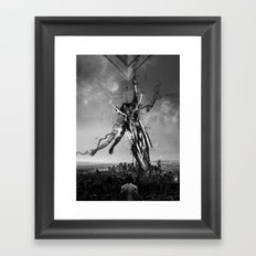 Renda-se Framed Art Print