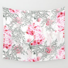 PINK ORCHIDS IN SPRING BLOOM Wall Tapestry