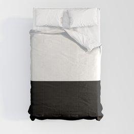 White-Black Comforters
