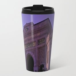 In this building educated. Travel Mug