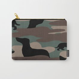 Camo Weiner Dogg Carry-All Pouch