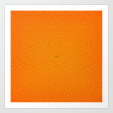 Juicy Orange Art Print